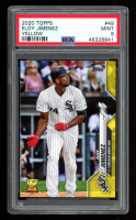 Eloy Jimenez 2020 Topps Walgreens Yellow #49 (PSA 9) at PristineAuction.com