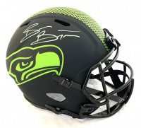 Brian Bosworth Signed Seahawks Full-Size Eclipse Alternate Speed Helmet (Beckett COA) at PristineAuction.com