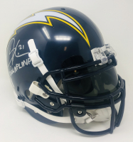 "LaDainian Tomlinson Signed Chargers Authentic On Field Full-Size Helmet Inscribed ""2006 NFL MVP"" (Tomlinson Hologram) at PristineAuction.com"