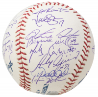 2006 Yankees OML Baseball Signed by (30) with Derek Jeter, Joe Torre, Alex Rodriguez, Gary Sheffield, Robinson Cano (Steiner COA & PSA LOA) at PristineAuction.com