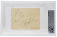 Michael Jordan Signed Cut (BAS Encapsulated) at PristineAuction.com