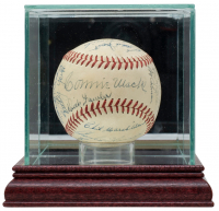 1948 Athletics OAL Baseball Team-Signed by (29) Including Connie Mack with Display Case (PSA LOA) at PristineAuction.com