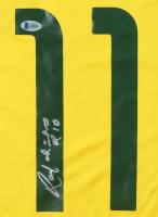 "Ronaldinho Signed Jersey Inscribed ""R10"" (Beckett COA) at PristineAuction.com"