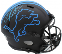 Calvin Johnson Signed Lions Full-Size Eclipse Alternate Speed Helmet (Radtke COA) at PristineAuction.com