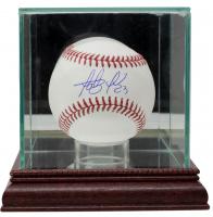 Fernando Tatis Jr. Signed OML Baseball with Display Case (JSA COA) at PristineAuction.com