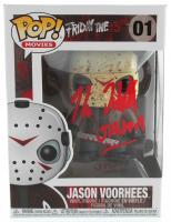 "Kane Hodder Signed ""Friday the 13th"" Jason Voorhees #01 Funko Pop! Vinyl Figure Inscribed ""Jason"" (JSA COA) at PristineAuction.com"