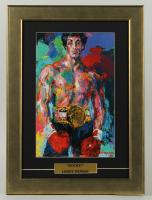 "LeRoy Neiman ""Rocky"" 13.5x18.5 Custom Framed Print Display at PristineAuction.com"