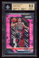 Trae Young 2018-19 Panini Prizm Prizms Pink Ice RC #78 (BGS 9.5) at PristineAuction.com