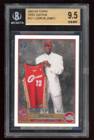 LeBron James 2003-04 Topps First Edition #221 RC (BGS 9.5) at PristineAuction.com