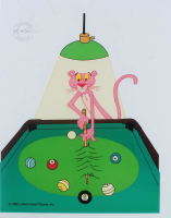 "United Artist 1992 Pink Panther ""Pink 8 Ball"" 9.5""x12.5"" Serigraph Cel at PristineAuction.com"