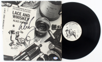 "Alice Cooper Signed ""Lace and Whiskey"" Vinyl Record Album (PSA Hologram) at PristineAuction.com"