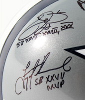 """Troy Aikman, Emmitt Smith & Michael """"Playmaker"""" Irvin Signed Cowboys Full-Size Helmet With (3) Super Bowl Inscriptions (Prova, Aikman, Irvin & Smith Holograms) at PristineAuction.com"""