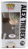 "Alex Trebek Signed ""Jeopardy"" #776 Funko Pop! Vinyl Figure (PSA Hologram) at PristineAuction.com"