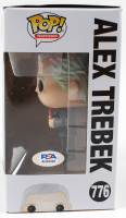 "Alex Trebek Signed ""Jeopardy"" #776 Funko Pop! Vinyl Figure (PSA Hologram) at PristineAuction.com"