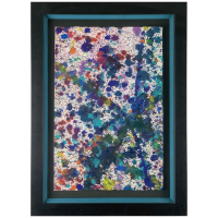 """Wyland Signed """"Soft Coral 8"""" 29x21 Custom Framed Original Painting on Paper at PristineAuction.com"""