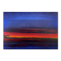 "Wyland Signed ""Abstract"" 24x36 Original Painting on Canvas at PristineAuction.com"