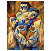 "Yuroz Signed ""The Preservation Of Love"" Limited Edition 40x30 Serigraph on Canvas at PristineAuction.com"