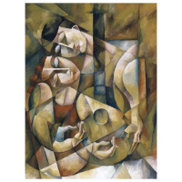 """Yuroz Signed """"Lover's Serenade"""" Limited Edition 40x30 Serigraph on Canvas (PA LOA) at PristineAuction.com"""