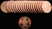 Lot of (20) 2020 Donald Trump Presidential Collectable Coins at PristineAuction.com