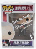 "Alex Trebek Signed ""Jeopardy"" #776 Funko Pop! Vinyl Figure Inscribed ""All The Best"" (PSA Hologram) at PristineAuction.com"