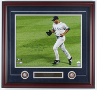 "Mariano Rivera Signed Yankees 25x27 Custom Framed Photo Display Inscribed ""HOF 2019"" with (2) Coins (JSA COA) at PristineAuction.com"