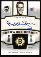 Bobby Orr Autograph 2006-07 The Cup Hardware Heroes #HHBO at PristineAuction.com