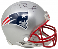 Tom Brady Signed Patriots Full-Size Authentic On-Field Helmet (Fanatics Hologram) at PristineAuction.com