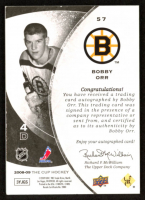 Bobby Orr Autograph 2008-09 The Cup Black #57 at PristineAuction.com