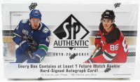 2019-20 Upper Deck SP Authentic Hockey Hobby Box at PristineAuction.com