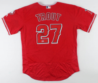 Mike Trout Signed Angels Jersey (PSA COA) at PristineAuction.com