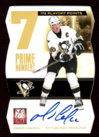 Mario Lemieux 2011-12 Elite Prime Number Autographs #6 at PristineAuction.com