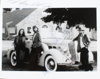 """Barry Gibb, Maurice Gibb & Robin Gibb Signed Bee Gees 8x10 Photo Inscribed """"Best Wishes"""" & """"Love"""" (PSA LOA) at PristineAuction.com"""