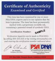 John Elway & Peyton Manning Signed Broncos Speed Mini Helmet (PSA COA) at PristineAuction.com