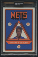 Dwight Gooden Topps Project 2020 #106 by Grotesk (Project 2020 Encapsulated) at PristineAuction.com