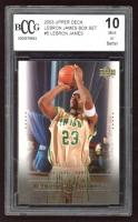 LeBron James 2003 Upper Deck Box Set #5 LeBron James / National Champs (BCCG 10) at PristineAuction.com
