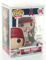 Mike Trout Signed Angels #08 Funko Pop! Vinyl Figure (PSA COA) at PristineAuction.com