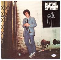 "Billy Joel Signed ""52nd Street"" Vinyl Record Album Cover (PSA Hologram) at PristineAuction.com"