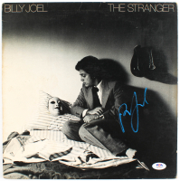 "Billy Joel Signed ""The Stranger"" Vinyl Record Album Cover (PSA Hologram) at PristineAuction.com"