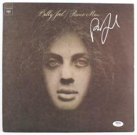 "Billy Joel Signed ""Piano Man"" Vinyl Record Album Cover (PSA Hologram) at PristineAuction.com"