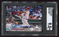 Juan Soto 2018 Topps Update #US104 RD (SGC 9.5) at PristineAuction.com