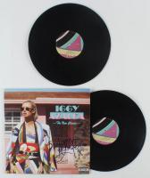 "Iggy Azalea Signed ""The New Classic"" Vinyl Record Album Cover (JSA COA) at PristineAuction.com"