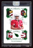 Kyler Murray 2019 Panini Flawless Collegiate Rookie Patches Emerald #1 at PristineAuction.com