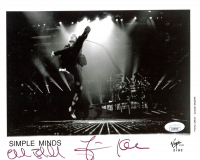 "Charlie Burchill & Jim Kerr Signed ""Simple Minds"" 8x10 Photo (JSA COA) at PristineAuction.com"