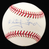 Whitey Ford Signed OML Baseball (JSA COA) at PristineAuction.com