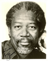 "Morgan Freeman Signed 8x10 Photo Inscribed ""Best Wishes"" (JSA COA) at PristineAuction.com"