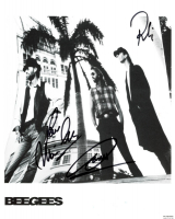 """Maurice Gibb, Robin Gibb & Barry Gibb Signed """"Bee Gees"""" 8x10 Photo Inscribed """"Love"""" (JSA ALOA) at PristineAuction.com"""