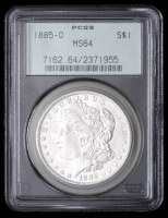 1885-O Morgan Silver Dollar (PCGS MS64) OGH at PristineAuction.com