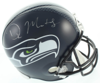 D.K. Metcalf Signed Seahawks Full-Size Helmet (Beckett COA) at PristineAuction.com