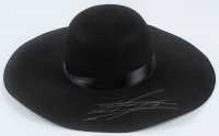 The Undertaker Signed Wide Brim Open Crown Hat (JSA COA) at PristineAuction.com