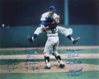 1969 Mets 16x20 Photo Team-Signed by (13) with Bud Harrelson, Ron Swoboda, Wayne Garrett, Duffy Dyer, Jerry Koosman (JPS Hologram) at PristineAuction.com